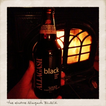 Allagash. black.